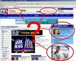 Image page[Fox News... fair and balanced while advertising anti-Clinton t-shirts]